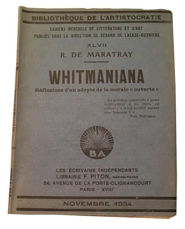 2241 - Maratray - Whitmaniana - book.jpg